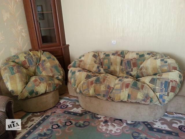 диван и кресло- объявление о продаже  в Киеве