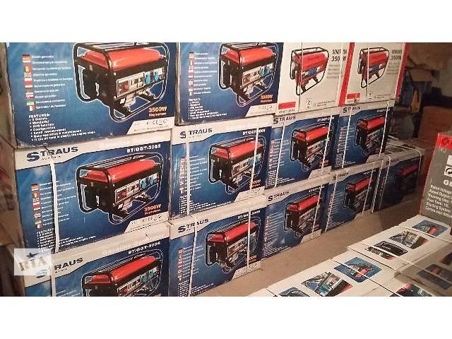 продам Дизельный генератор Straus Austria STDGT- 5007A 3,5 кВА  бу в Киеве