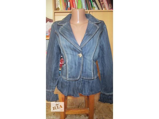 Джинсовая куртка с вышивкой- объявление о продаже  в Днепре (Днепропетровск)