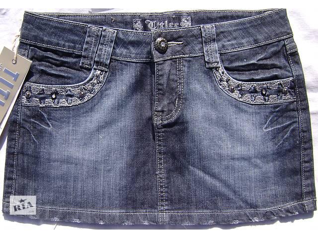 Джинсовая мини юбка новая Распродажа Size 29- объявление о продаже  в Мелитополе