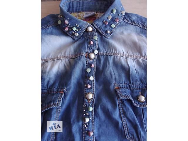 продам Джинсовая рубашка бу в Николаеве