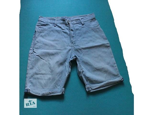 Джинсовые шорты с высокой талией MACHINE Jeans- объявление о продаже  в Киеве