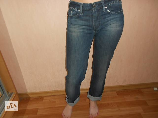 продам Джинсы, 24 размер, L32, бренд Perises, бойфренды, джинсы с подкоткой бу в Николаеве