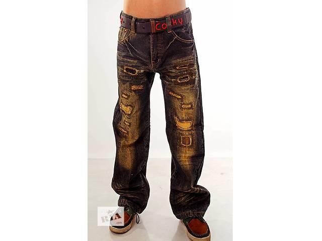 купить бу Джинсы, брюки, штаны утепленные на мальчика флис 7, 8, 9, 10, 11, 12 лет в Мариуполе (Донецкой обл.)