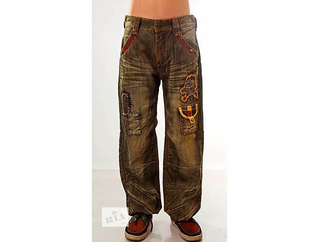 купить бу Джинсы, брюки, штаны утепленные на мальчика флис 8, 9, 10, 11, 12 л в Мариуполе (Донецкой обл.)