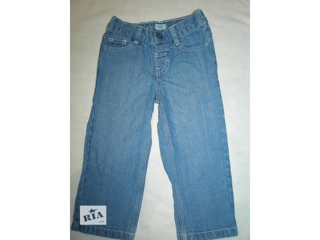джинсы на крупного мальчика рост 104 (3-4 года)- объявление о продаже  в Марганце