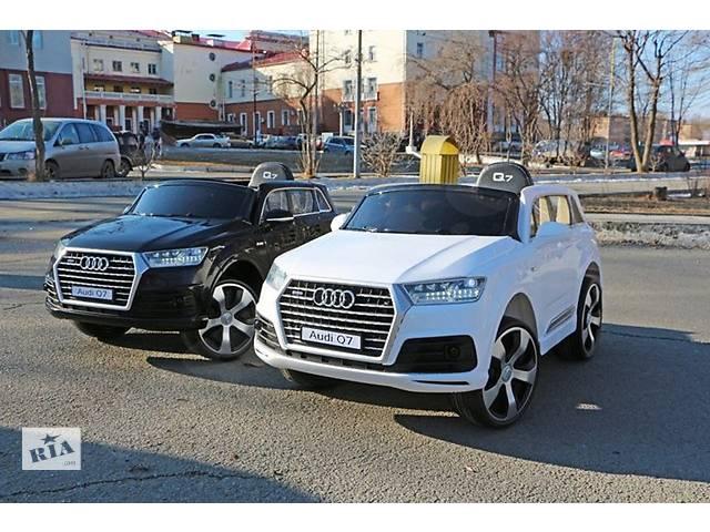продам Детский электромобиль Audi Q7 Двери открываются бу в Днепре (Днепропетровск)