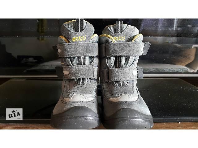 купить бу Ecco ботинки зима мальчик 22 р в Киеве