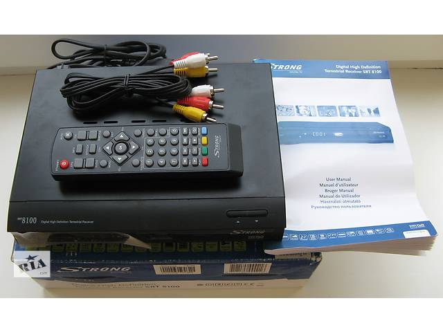 бу Эфирный цифровой DVB-T ресивер Strong SRT 8100 PVR в Киеве