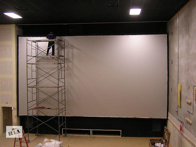 Экраны обратной проекции для кинотеатров и видеозалов.- объявление о продаже   в Украине