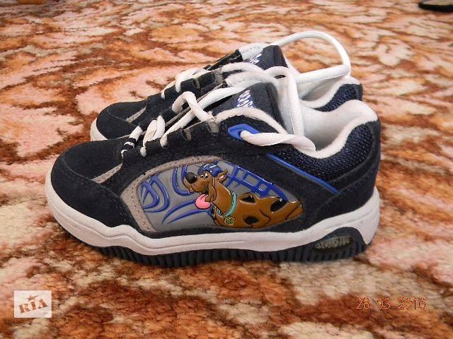 Эксклюзив! Кожаные фирменные детские кроссовки SCOOBY-DOO! - объявление о продаже  в Николаеве
