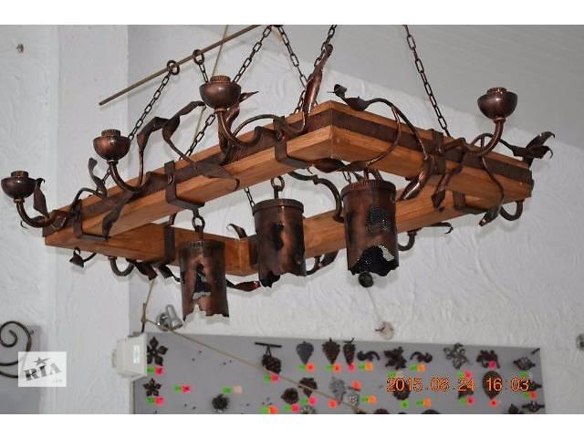 бу Художественная ковка. Кованые люстры, светильники, вешалки в прихожую, декоративное оформление. Под заказ, вся Украина. в Виннице