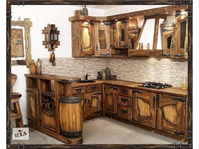 Эксклюзивная мебель для кухни из натурального дерева- объявление о продаже  в Киеве