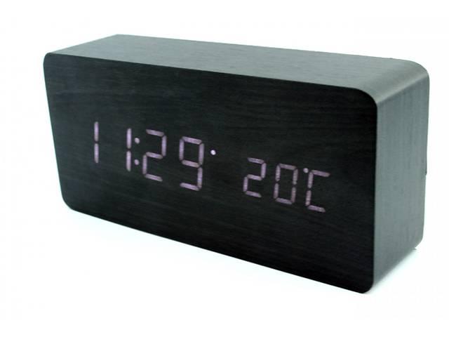 Эксклюзивные деревянные настольные часы брусок   - объявление о продаже  в Киеве