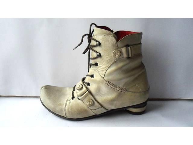 Эксклюзивные кожаные ботиночки от  Tiggers.Размер 38- объявление о продаже  в Калуше