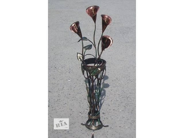 купить бу Эксклюзивные кованые цветы, букеты, вазы, подвазоники. в Виннице