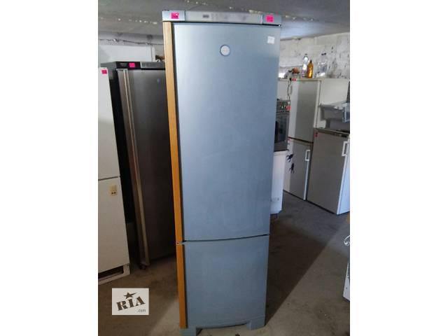 купить бу Эксклюзивный холодильник Electrolux металлик сдеревянными ручк 200 см в Луцке