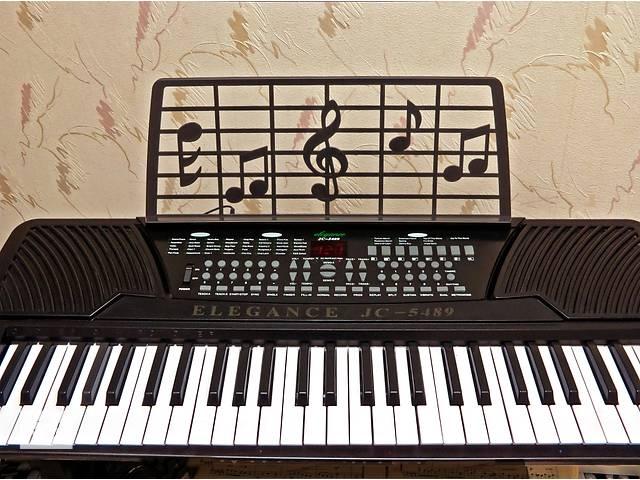 купить бу Eleganse JC-5489. Продам недорого детский обучающий синтезатор в Одессе