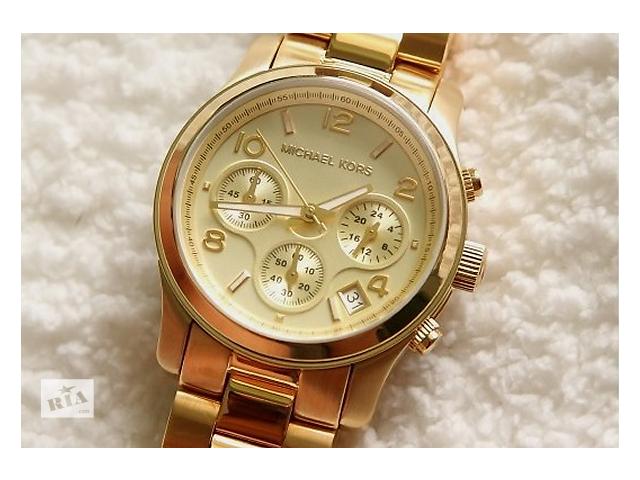 часы женские michael kors gold практически