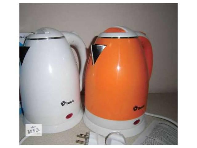 купить бу Электро чайник-термос Domotec DT 806 пластик+нержавейка в Харькове