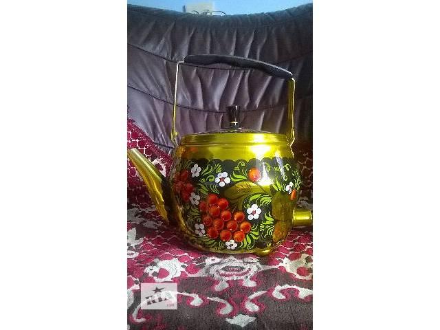 купить бу Электрочайник с художественной росписью в Тернополе