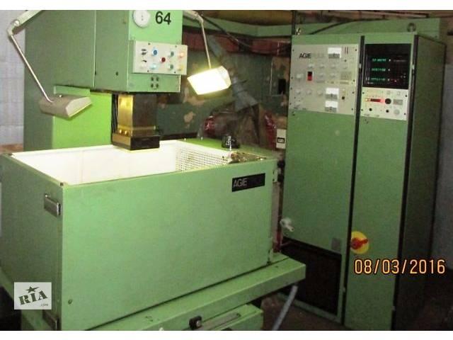 купить бу Электроэрозионный копировально - прошивной станок AGIE модели AGIETRON EMS-3 в Киеве Б/У в Киеве