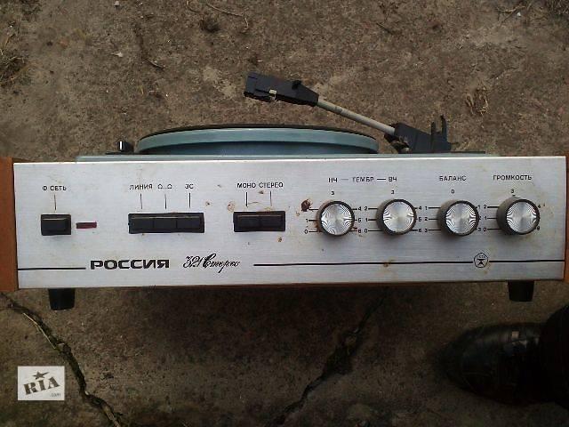 продам Электрофон Россия 321 Стерео бу в Киеве