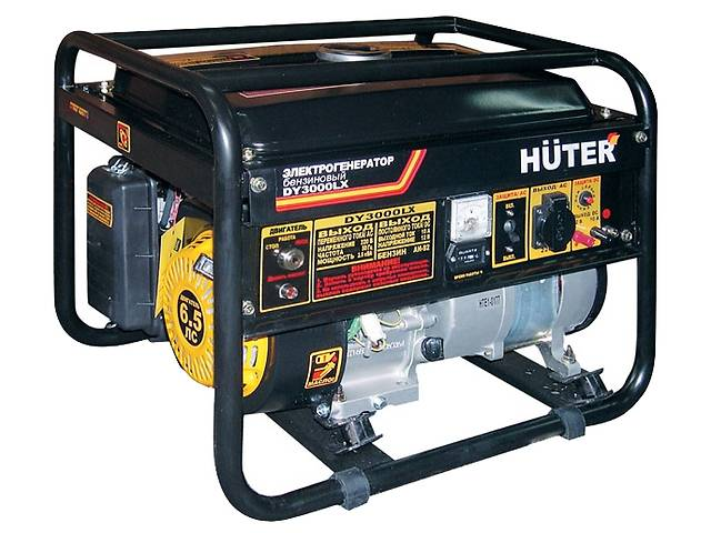 купить бу Электрогенератор Huter DY3000LX (бензиновый, новый) в Донецке
