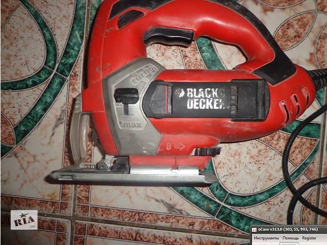 купить бу електролобзик блэк энд декер в Чернигове