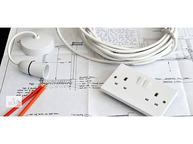 Електромонажні роботи, проводка а в квартирах.- объявление о продаже  в Киеве