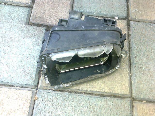 купить бу Електрообладнання кузова  Фара протитуманна Легковий BMW 5 Series в Ужгороде
