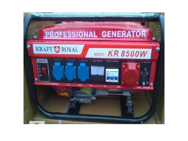 купить бу Электростанция KRAFT 8500w новая из Германии в Кривом Роге (Днепропетровской обл.)