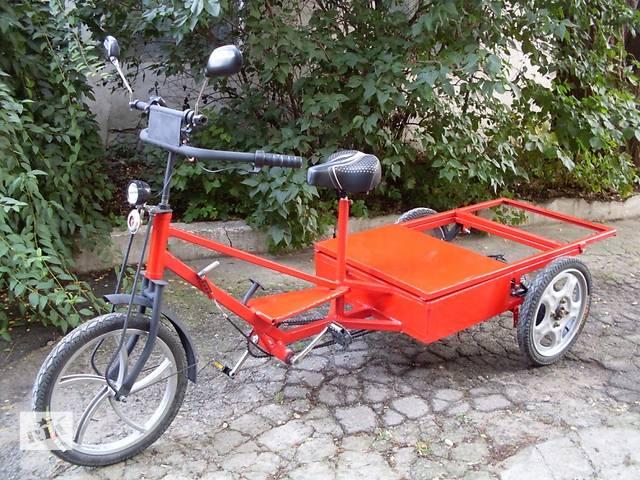 купить бу Электровелосипед трехколесный, грузовой в Харькове