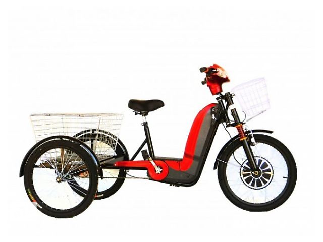 купить бу Электровелосипед трехколесный грузовой Volta Бизон в Одессе