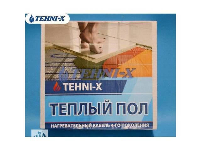 купить бу Электрический теплый пол Tehni-x. Двухжильный нагревательный кабель в Киеве