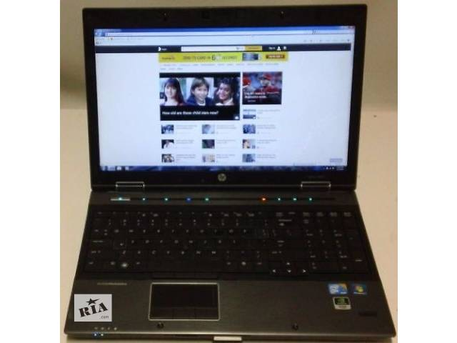 """продам EliteBook 8540w 15.6"""" 4ядра i7 с 4 Гб 320 Гб игровая видеокарта бу в Виннице"""