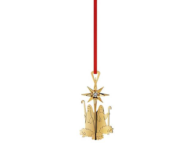 Елочные Игрушки Georg Jensen Christmas Ornaments золото 24 карата - объявление о продаже  в Тернополе