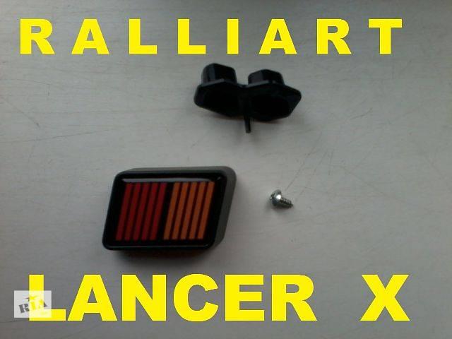 продам Эмблема Ralliart для Mitsubishi бу в Донецке