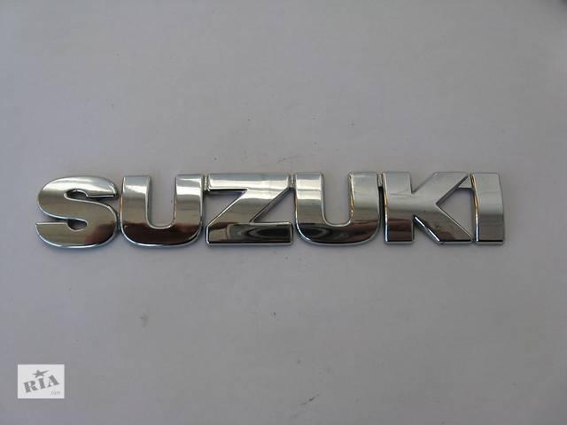 купить бу  Емблема SUZUKI 155x25 мм для Suzuki в Львове