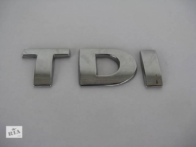 Емблема TDI 25 мм для Volkswagen- объявление о продаже  в Львове