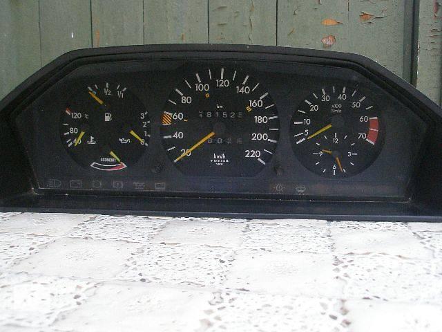 купить бу ЭМерседес 124 лектрооборудование кузова щиток приборов Легковой Mercedes 124 в Киеве