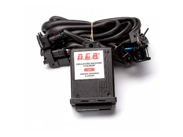 купить бу Эмулятор форсунок AEB 4 цилиндровый с фишками Bosch для гбо в Харькове
