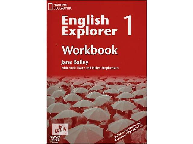 """бу """"English Explorer 1 Workbook"""" + 2 CD в Коломые"""