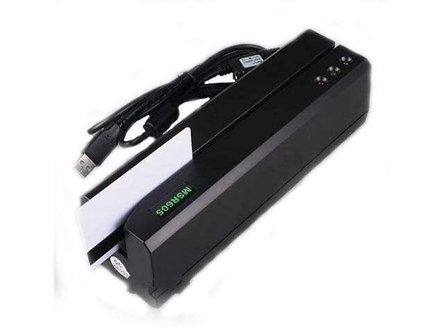 купить бу Энкодер считыватель пластиковых магнитных карт MSR605 (MSR606) в Черкассах
