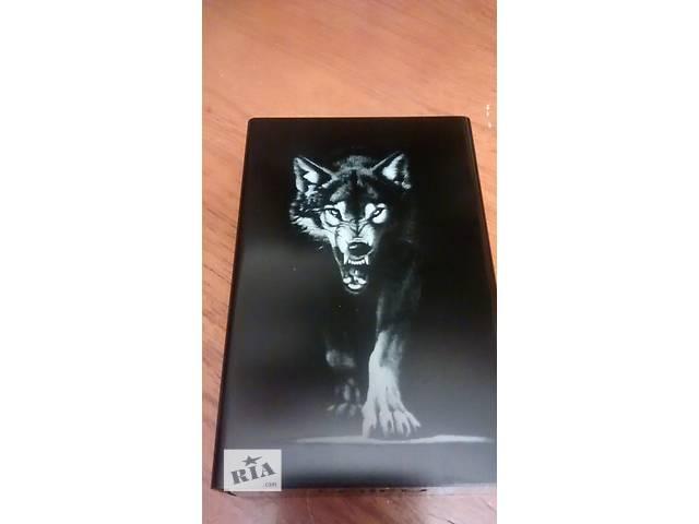 """продам Металлический портсигар """"Король Волк"""" с лазерной гравировкой бу в Тернополе"""