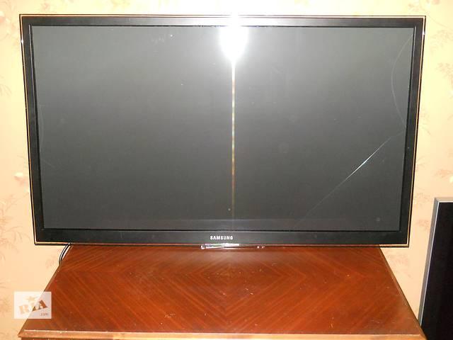 купить бу EURO Плазменный телевизор Samsung PS51D7005D треснут экран на запчасти в Николаеве