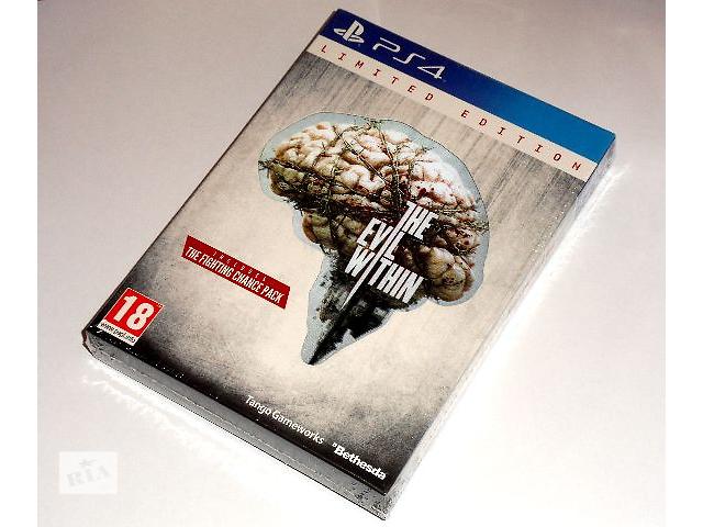 бу Evil Within (The) Limited Edition для PS4 (новый диск, рус. версия) в Запорожье