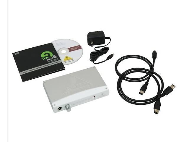 продам F-CONTROL FCA202 Firevare audio interface Behringer бу в Тернополе