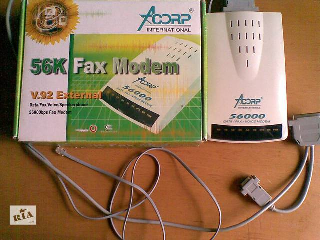 продам Факс-модем 56 К Acorp рабочий бу в Киеве