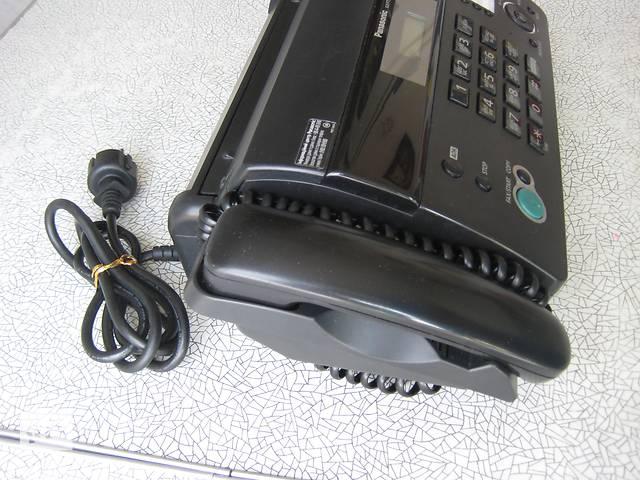продам Факсимильный телефонный аппарат, PANASONIK, модель: KX-FT982UA, черный, б/у. бу в Киеве